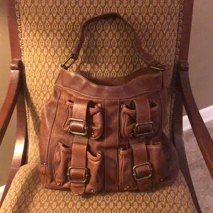 Banana republic shoulder bag all leather